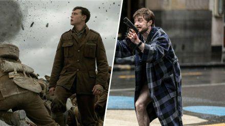 """""""1917"""" (l.) und """"Guns Akimbo"""": Weiter könnten zwei Filme wohl nicht auseinander liegen. (stk/spot)"""