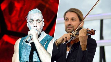 Till Lindemann (li.) und David Garrett tun sich zusammen. (eee/spot)