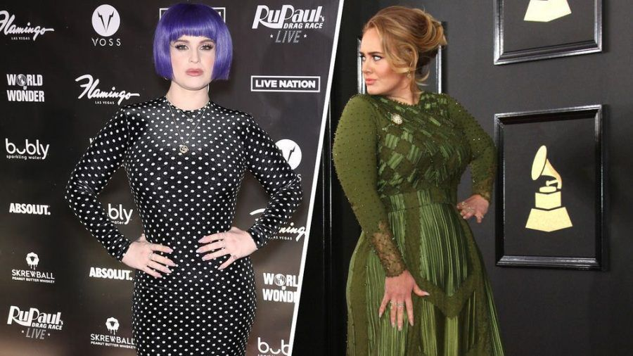Kelly Osbourne und Adele haben eine tolle Transformation hingelegt. (kms/spot)