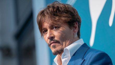 Johnny Depp bei den Filmfestspielen von Venedig im vergangenen Jahr (wue/spot)