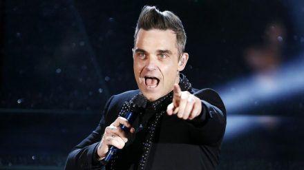 Überraschung!Robbie Williams gründet eine neue Band. (ili/spot)