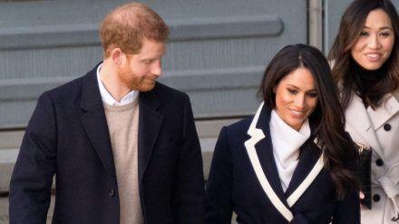 Prinz Harry und Herzogin Meghan bekommen berühmte Nachbarin (jru/spot)