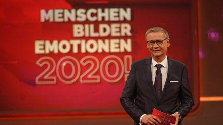 """Günther Jauch bei seinem RTL-Rückblick """"2020! Menschen, Bilder, Emotionen"""". (dr/spot)"""