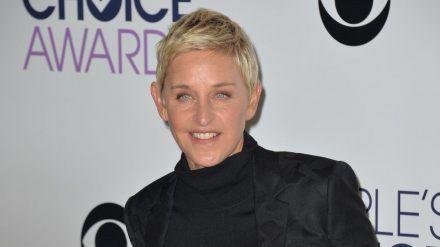 Ellen DeGeneres hat Corona. (cos/spot)