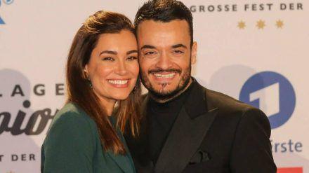 Jana Ina Zarrella und Ehemann Giovanni gelten als Traumpaar in der deutschen Promi-Welt. (jom/spot)