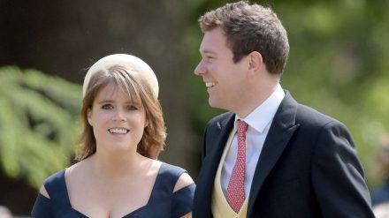 Prinzessin Eugenie und Jack Brooksbank bei der Hochzeit von James Matthews und Pippa Middleton. (jom/spot)