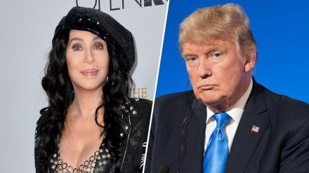 Cher und Donald Trump werden in diesem Leben wohl keine Freunde mehr (wag/spot)