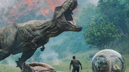 """""""Jurassic World: Das gefallene Königreich"""": Owen Grady (Chris Pratt) will die Saurier vor dem Tod bewahren. (cg/spot)"""