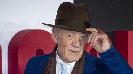 Ian McKellen auf dem roten Teppich (mia/spot)