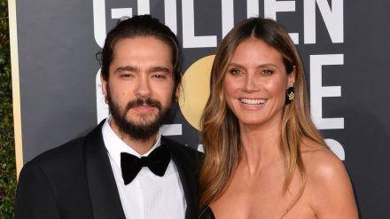 Heidi Klum und Tom Kaulitz auf dem roten Teppich. (ili/spot)