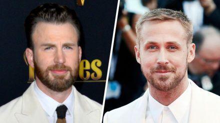 """Chris Evans und Ryan Gosling übernehmen in """"The Gray Man"""" die Hauptrollen. (cos/spot)"""