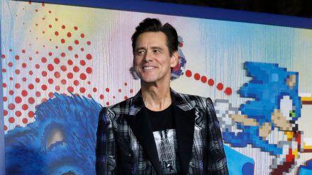 Jim Carrey bei einer Filmpremiere im Februar 2020. (jru/spot)