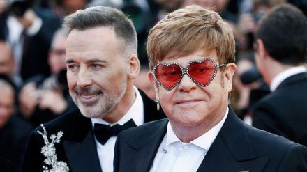 David Furnish und Elton John sind seit mehr als 20 Jahren ein Paar. (ves/spot)