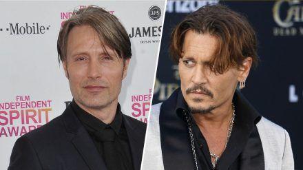 """Mads Mikkelsen hat Johnny Depp nur """"einmal getroffen"""". (wag/spot)"""