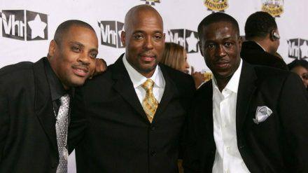 John Fletcher (Mitte) mit seinen Kollegen von Whodini bei VH1 Hip Hop Honors im Jahr 2007. (wag/spot)
