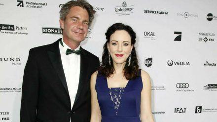 Jasmin Wagner und Frank Sippel bei der 10. Verleihung der GreenTec Awards im Jahr 2017. (jom/spot)