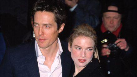 """Hugh Grant und Renée Zellweger bei der Premiere von """"Bridget Jones - Schokolade zum Frühstück"""" im Jahr 2001. (wag/spot)"""