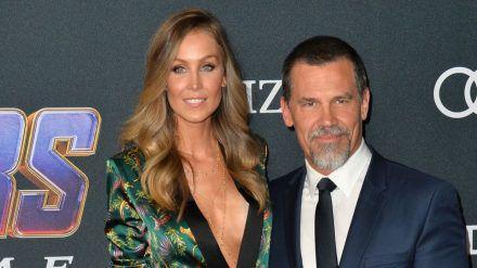 """Josh Brolin und seine Frau Kathryn bei der Premiere von """"Avengers: Endgame"""" in Los Angeles (hub/spot)"""