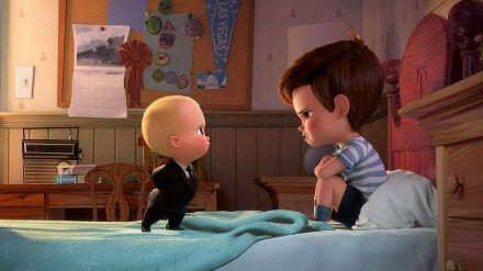 """Das """"Boss Baby"""" (l.) hat es faustdick hinter den Ohren. (wag/spot)"""