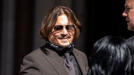 Johnny Depp hofft auf eine bessere Zukunft (wue/spot)