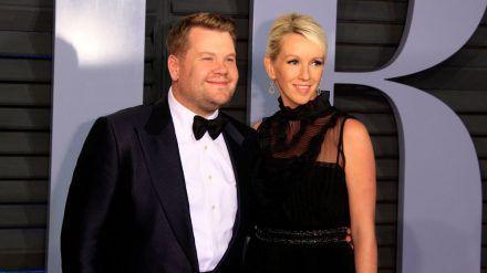 James Corden und seine Ehefrau Julia Carey (wue/spot)
