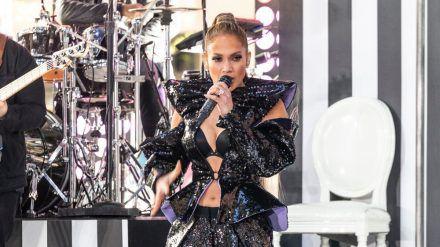 Jennifer Lopez während eines Auftritts im vergangenen Jahr (wue/spot)