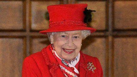 Die Queen vor wenigen Wochen (wue/spot)