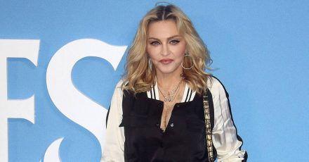Madonna zeigt ihre Twins