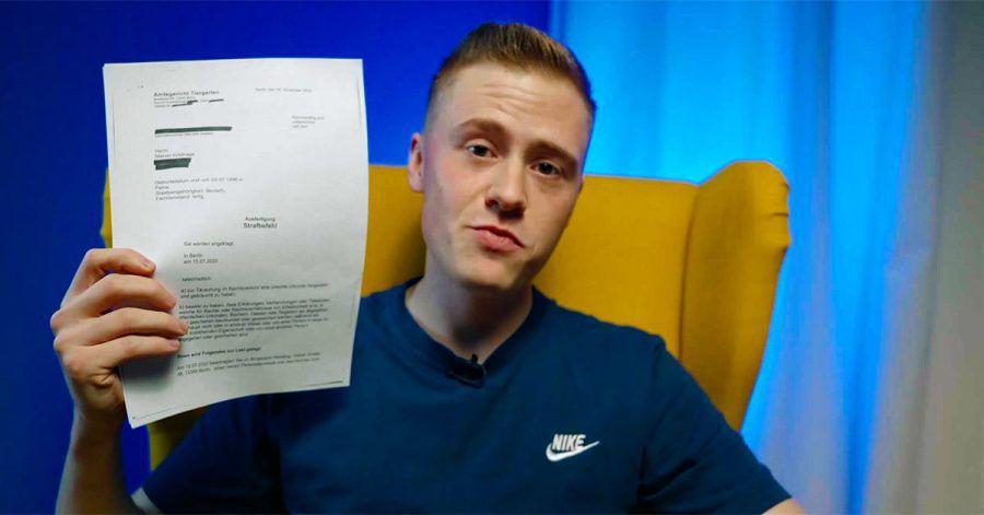 Falscher Doktortitel: YouTuber Marvin Wildhage drohen 40 Tage Knast