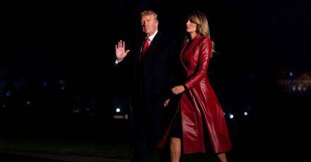 Donald und Melania Trump: Das letzte offizielle Foto wirft Fragen auf