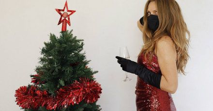 Die luxuriösesten Weihnachtsoutfits der Stars