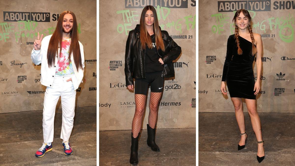About You Fashion-Show: Diese Promis waren dabei!