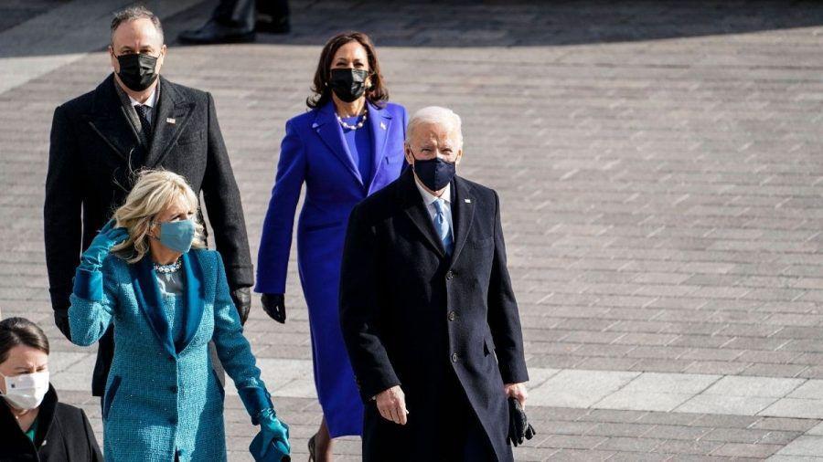 Joe Biden, Jill Biden, Kamala Harris