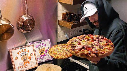 Capital Bra erweitert sein Pizza-Sortiment: Halal Sucuk und Thunfisch