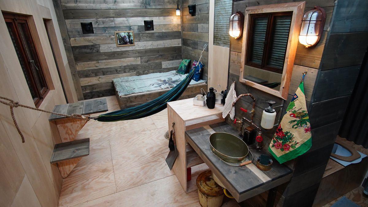 Dschungelshow: In diesem Tiny House werden die Kandidaten zusammengepfercht
