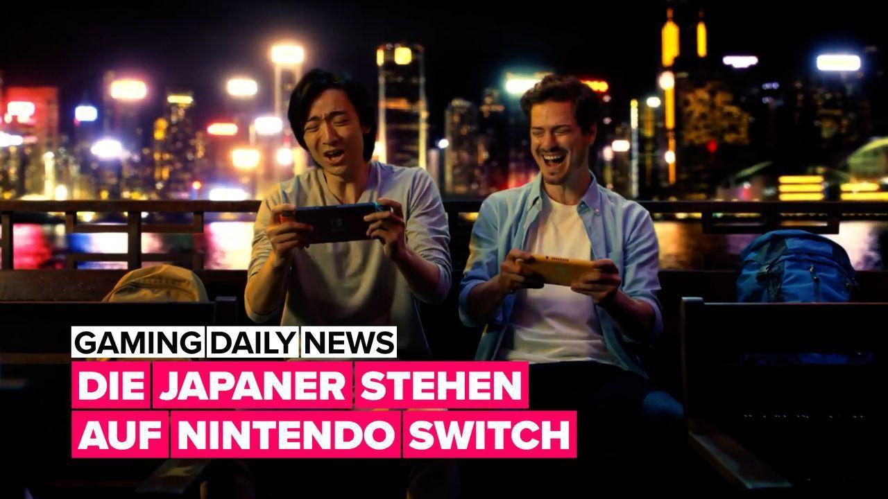 Nintendo Switch ist in Japan sehr beliebt!