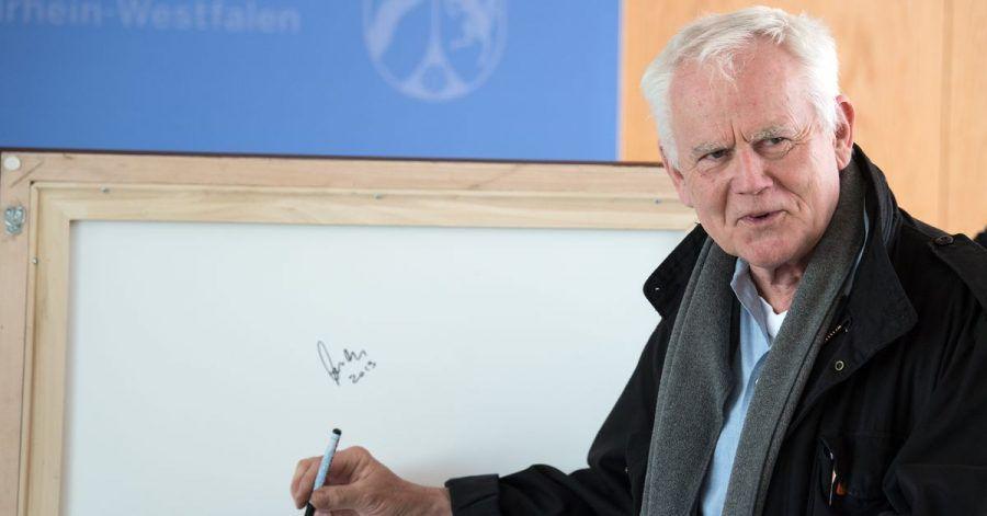 Jim Rakete feiert seinen 70. Geburtstag.