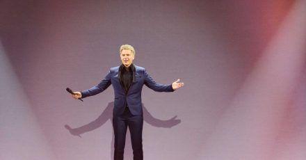 Der Moderator Jörg Pilawa am liebsten T-Shirt und Jeans.