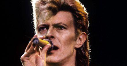 David Bowie 1987 beim Festival «Rock am Ring» auf dem Nürburgring.