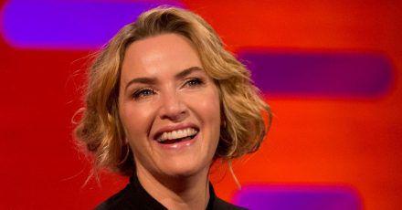"""Kate Winslet 2017 in der """"Graham Norton Show""""."""