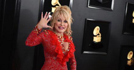 Dolly Parton bei der Grammy-Verleihung 2019.