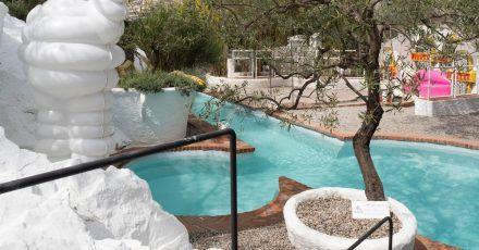 Wo der Meister schwamm oder zumindest plantschte: Pool im Dalí-Haus in Port Lligat.
