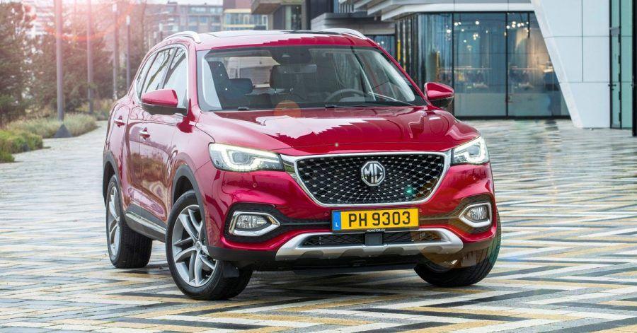 Auch zum Einstöpseln: Nach einem reinen E-Auto stellt MG nun mit dem EHS ein Modell mit Plug-in-Hybridantrieb vor.