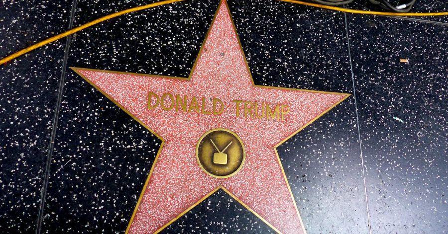 Der Stern von Donald Trump auf dem Hollywood Walk of Fame.
