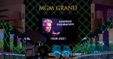 Trauer in Las Vegas um den Magier  Siegfried Fischbacher.