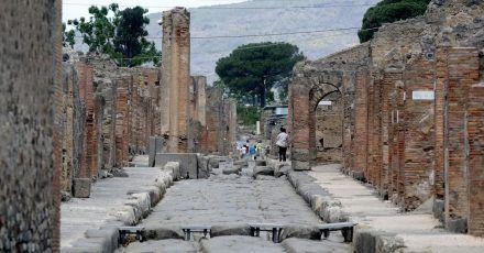 Der archäologische Park in Pompeji will nach Monaten der Schließung wegen der Pandemie wieder seine Pforten für Besucher öffnen