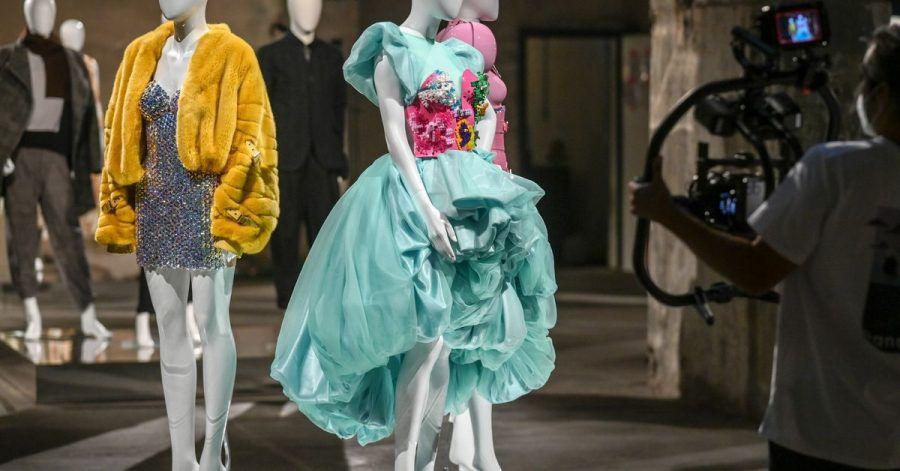 Die Berliner Modewoche findet diesmal im Internet statt, die Schauen werden wegen der Pandemie online gezeigt.