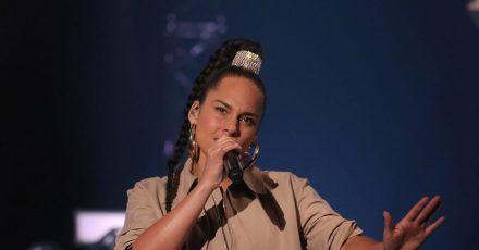 Sängerin Alicia Keys kämpft gegen den Rassismus in den USA