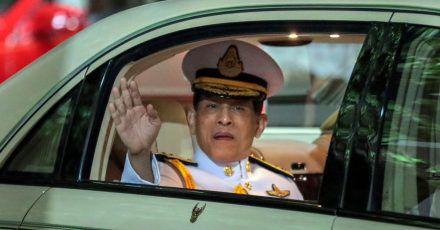 Nicht offen für Kritik - weder an seiner Person noch an seinem Hof: Thailands König Maha Vajiralongkorn.