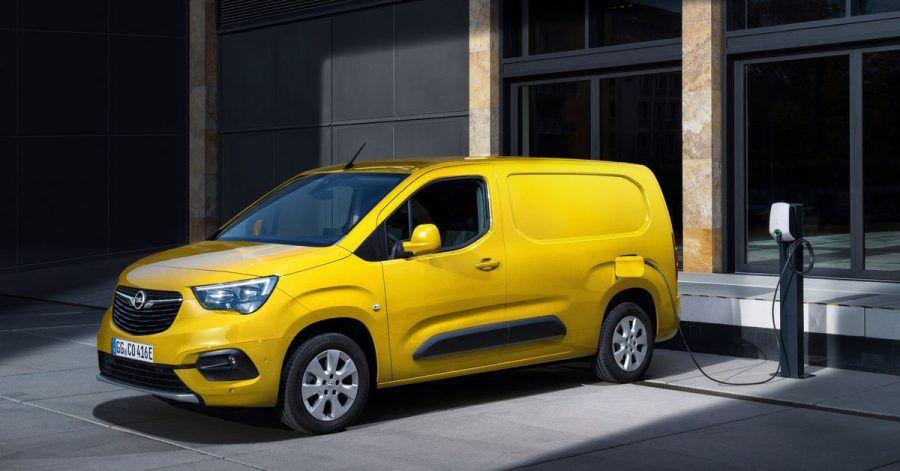 Elektrokasten: Der Opel Combo kommt in der e-Cargo-Version mit einer Akkufüllung bis zu 275 Kilometer weit.